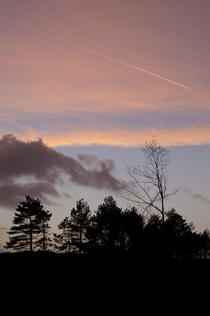 mood moody: Evening Mood on Amrum in Germany Stock Photo