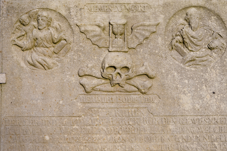 tombstones: Historic Sailor Tombstones on Amrum