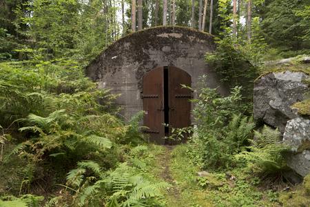 sweden: Ground bunker in Sweden