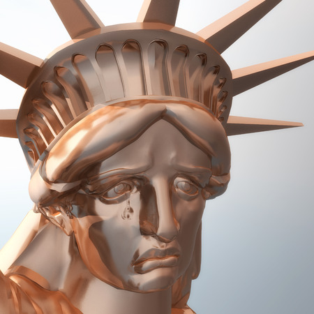 Procesamiento digital de la estatua de la libertad