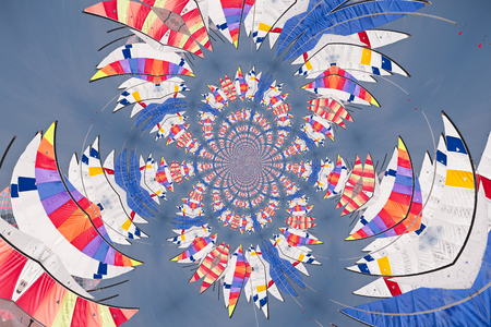 Kaleidoscopic Pattern of Sails, based on own Reference Image