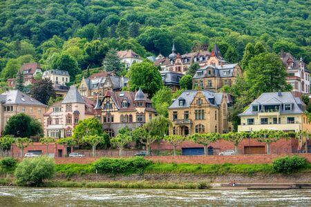 City view of Heidelberg in Germany 免版税图像