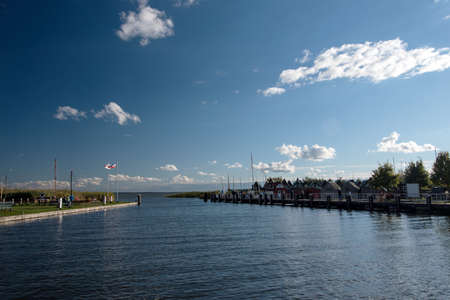 Port of  Althagen on Fischland in Germany