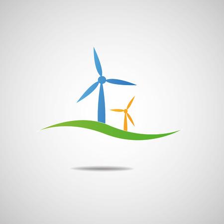 wind turbine: Wind turbine icon