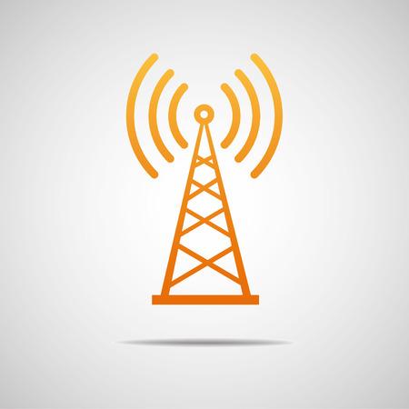 radio tower: Transmitter icon