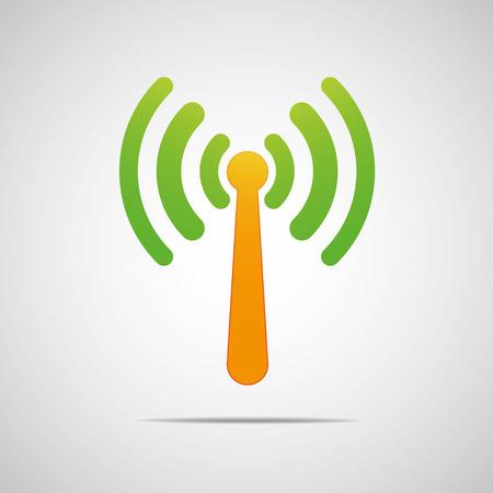 radio mast: Transmitter icon