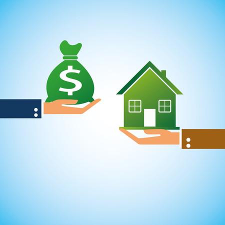 hand bring money home