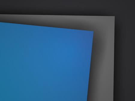 message text: Black  blue overlap dimension graphic background  message text and message design frame line shadow modern web design  vector illustration  Illustration