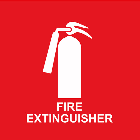 firefighting: fire extinguisher