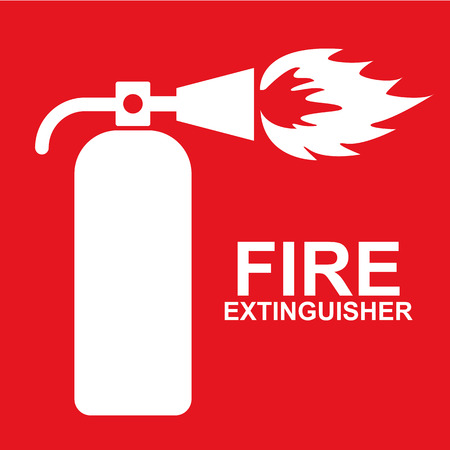 fire safety sign: fire extinguisher