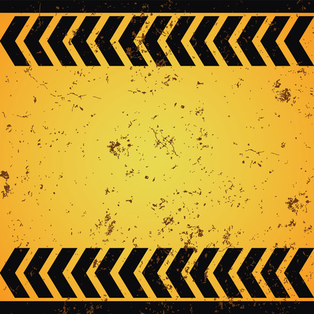 perimeter: Warning patterns danger tapes background old rusty
