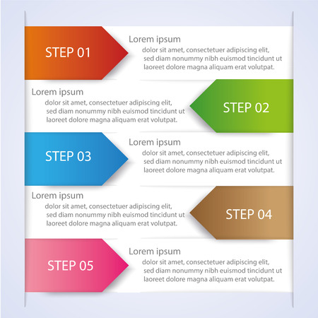 Business Infographic style Vector illustration Vector