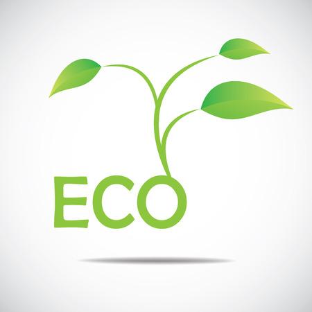 Ecology icon Illusztráció