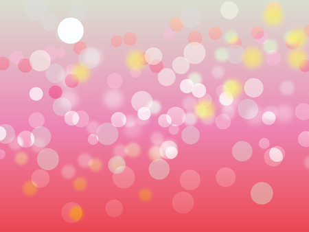 co lour: Bokeh abstract colorful light background Illustration