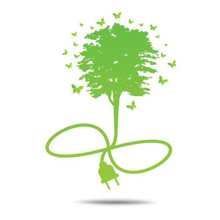 environmentally: Green ecology City environmentally friendly .