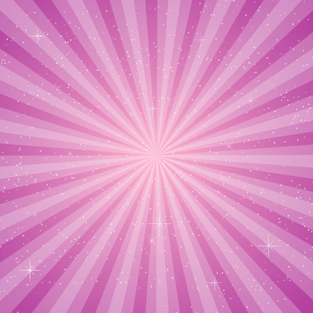 pace: Pink  sun ray vector, pace for your text background Illustration