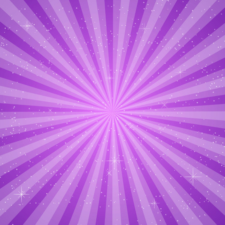 pace: purple sun ray vector, pace for your text background Illustration