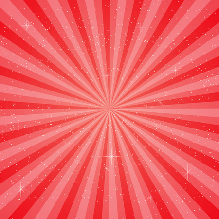 red sun: Red sun ray vector, pace for your text background