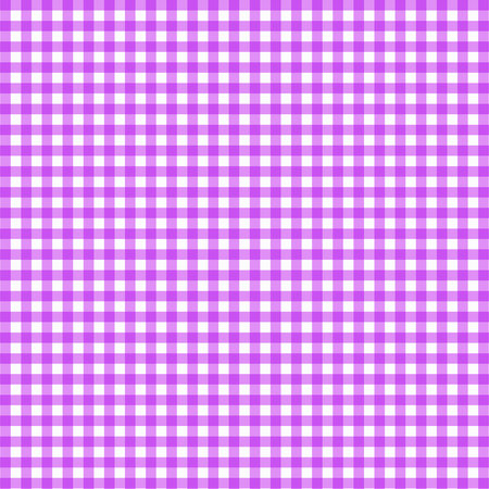 Vector gingham pattern in purple background Ilustrace