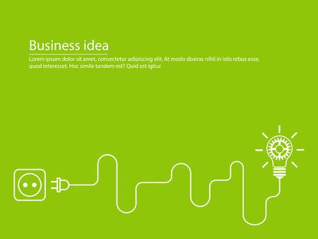 Creative brainstorm concept business idea