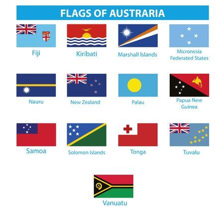 Austraria of flag