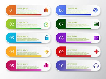 Vector template circle infographics. Business concept