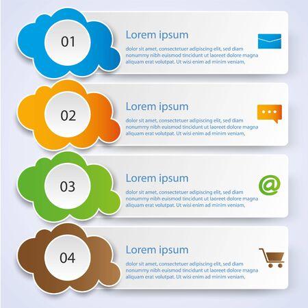 Business Infographic style Vector illustration Vektoros illusztráció
