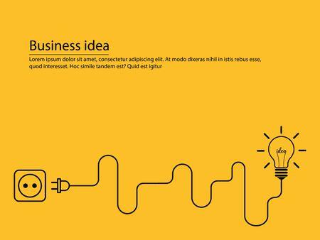 idée d'entreprise conceptuelle Vecteurs