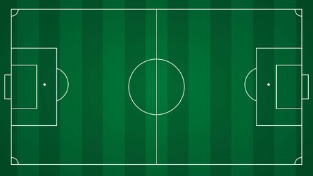 Football or soccer field background