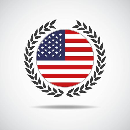 element for American Independence Day