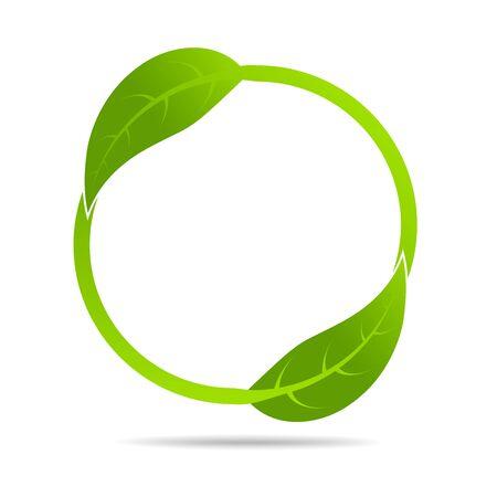 Ökologiekonzept und Umwelt, Banner-Designelemente für nachhaltige Energieentwicklung, Vektorillustration