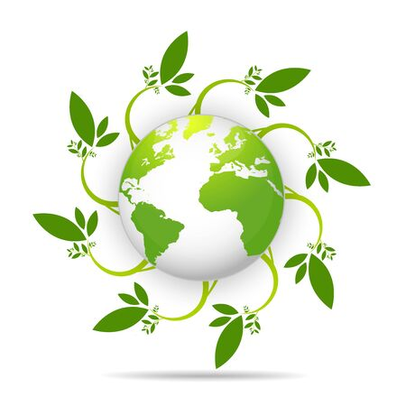 Earth Day. Eco friendly concept