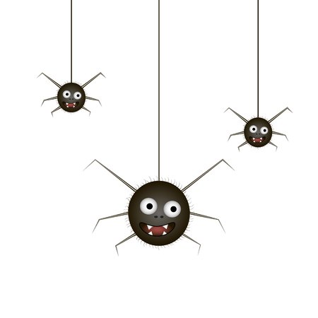 tarantula: Funny spider. Illustration.