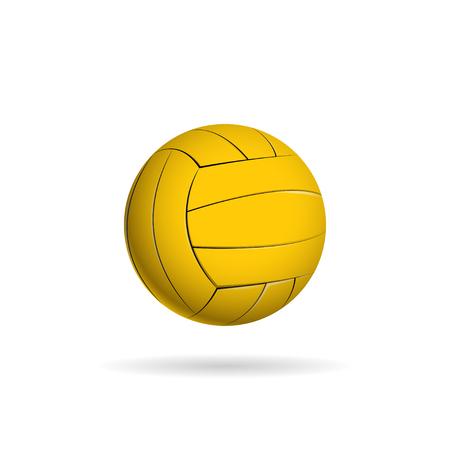 Wasserball Ball für das Team und die Tasse. Vektor-Illustration