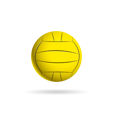 water polo: Water polo ball logo for the team and the cup. vector illustration
