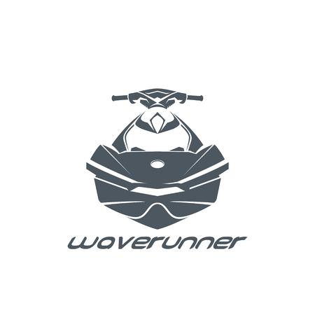 Jet ski, scooter Vecteurs