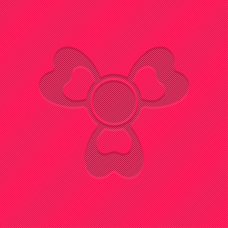 spinning: Hand spinner toys flat vector background