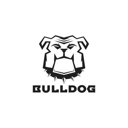 Bulldog ilustración vectorial de ilustración Ilustración de vector