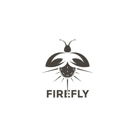 Logo Firefly on a white background Ilustração