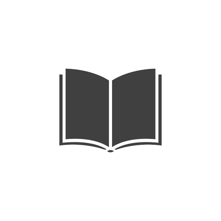 Book icon. sign design. Learning education book shop.