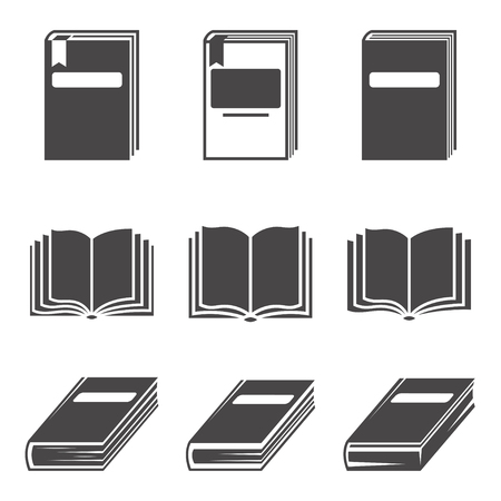 Book icon. sign design. Learning education book shop. Vector illustration