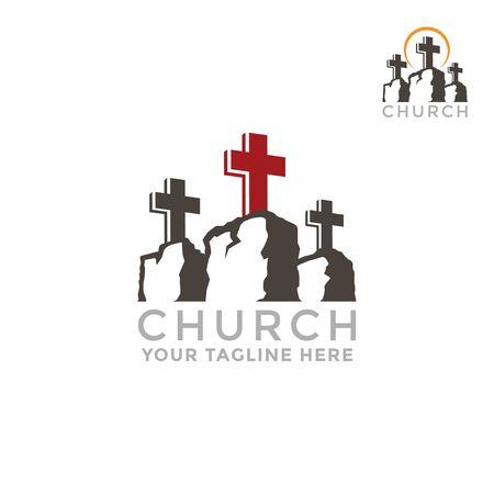 Template for churches. Mountain Calvary church