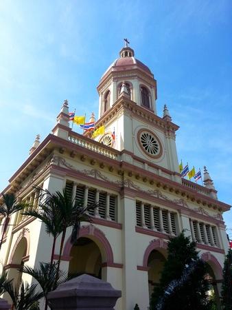 Church in Santa Cruz photo