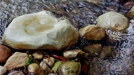 pebble: stone