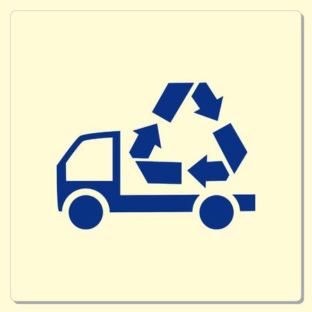 throw away: Throw away the trash icon, recycle icon Illustration