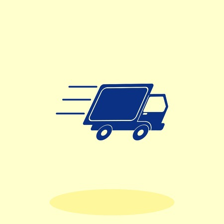 Delivery sign icon, vector illustration. 일러스트