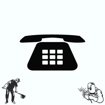 handset: The handset, phone icon