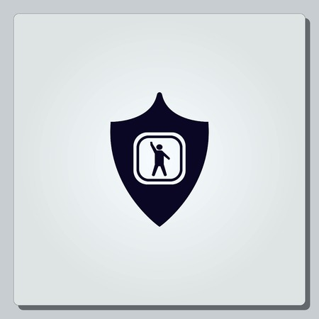 secured: Shield icon.