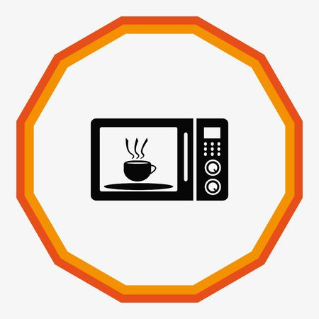 clean microwave clipart. clean eating: home appliances icon. microwave vector illustration. kitchenware. clipart n
