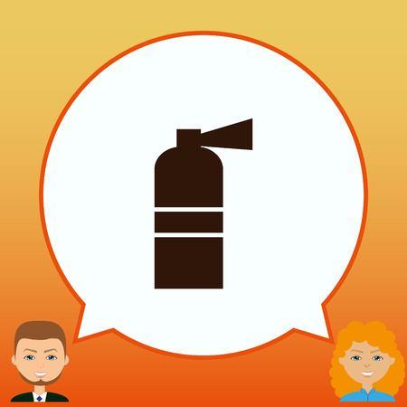 Fire extinguisher icon.